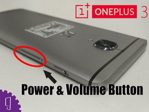 Power & Volume Button Flex