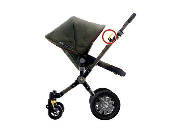 Bugaboo Cameleon 1 and 3 Brake Handle Replacement