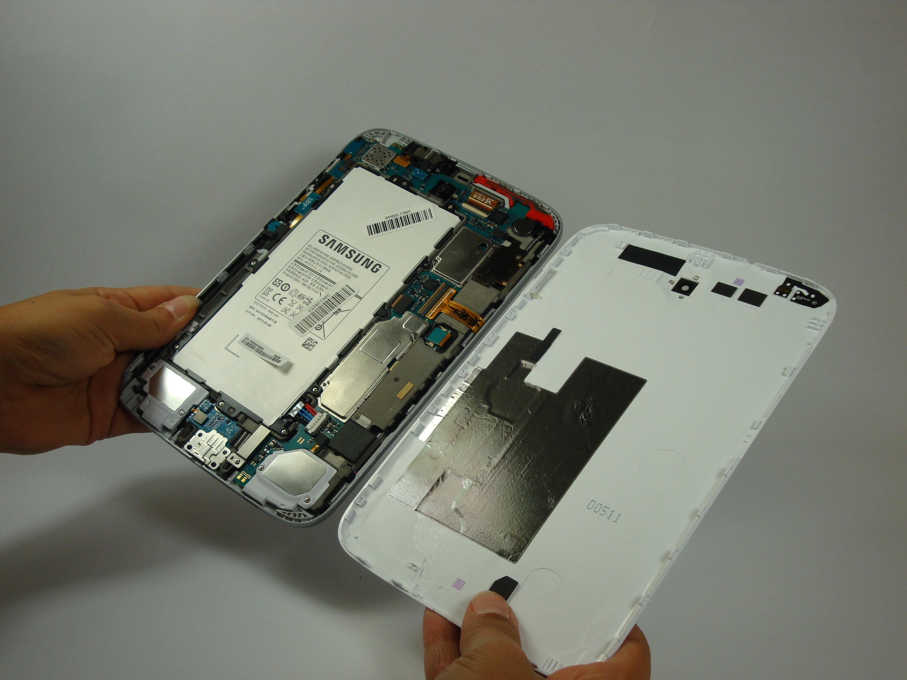 Samsung Galaxy Note 80 Tablet 2013 Repair Ifixit Usb Powered Battery Charger Circuit Gambar Skema Rangkaian Back Cover