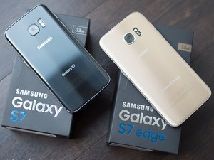 Samsung Galaxy S7 Edge 更换后盖