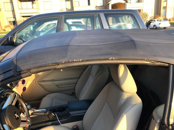 2006 (convertible) Ford Mustang Weatherproofing Car Window Replacement