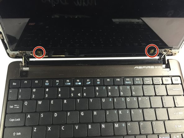 acer screen replacement instructions