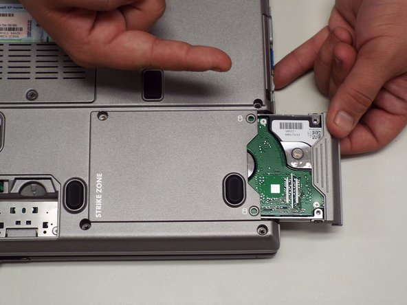 Remove the hard drive