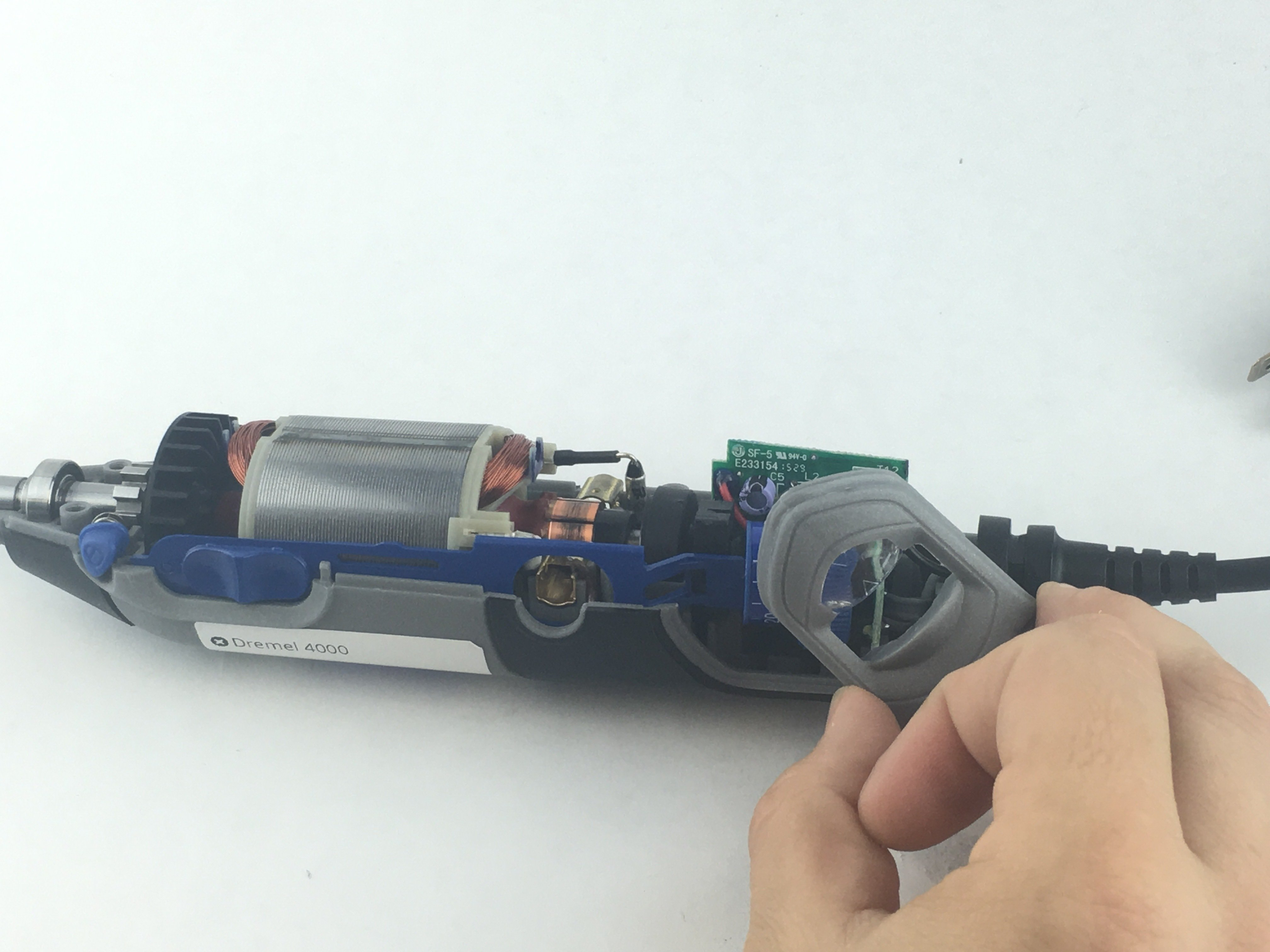 dremel wiring diagram dremel 4000 power cord replacement ifixit repair guide  dremel 4000 power cord replacement
