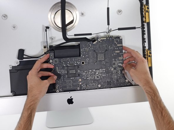 "iMac Intel 27"" Retina 5K Display Logic Board Replacement"