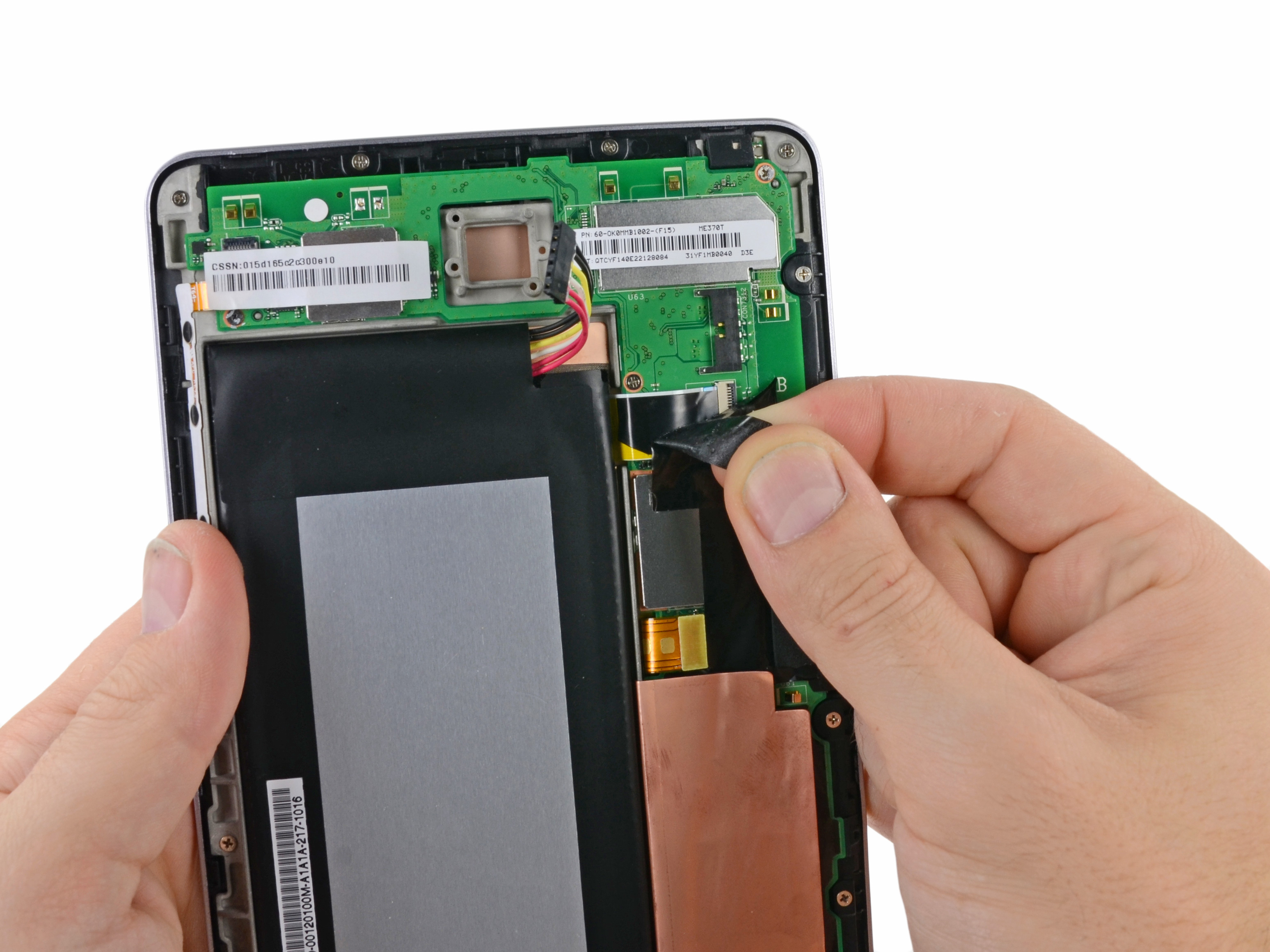 Nexus 7 repair ifixit display assembly solutioingenieria Gallery