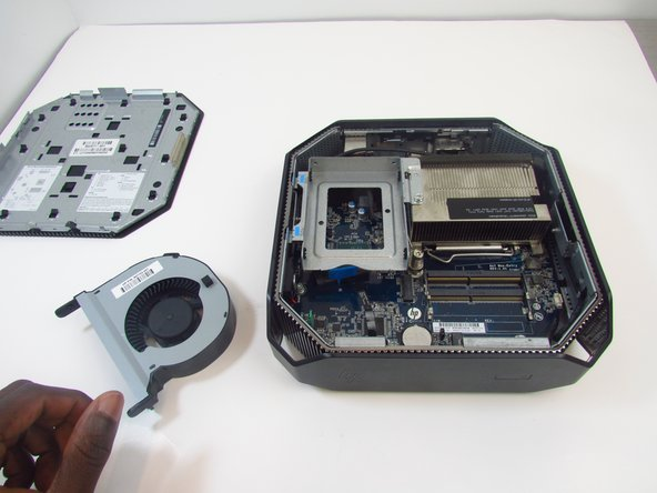 HP Z2 Mini G3 CPU Fan Replacement