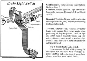 Or You Can Just By A New Switch At Places Like Autozone And Install It: )