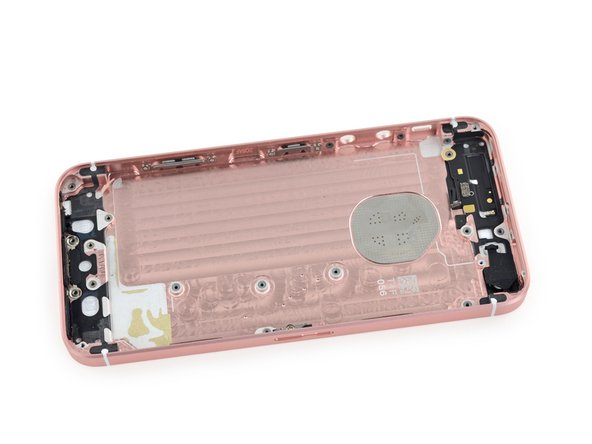 Image 3/3: With that, we're down to the rear case—time to wrap this teardown up!
