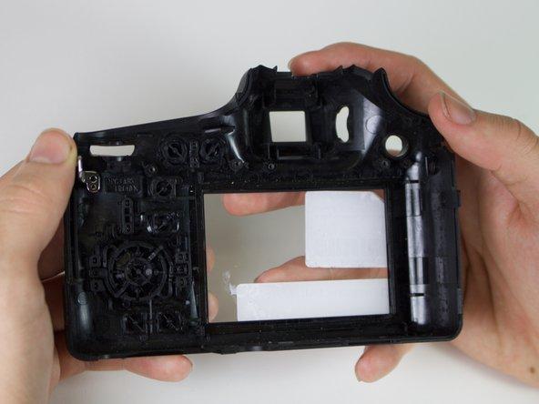 Panasonic DMC-FZ70 Back Frame Replacement