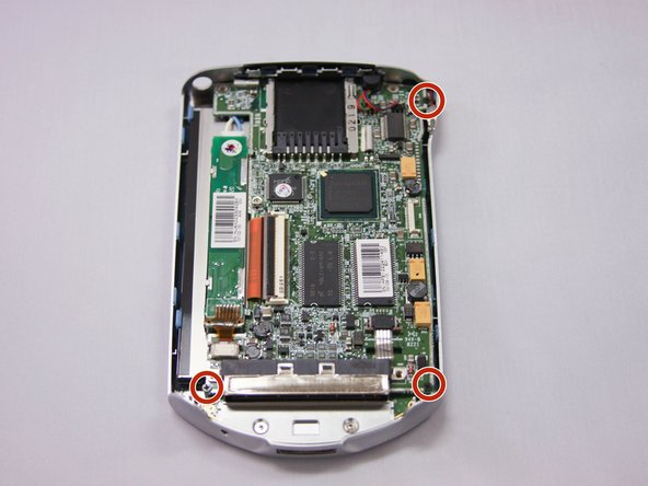 Image 1/1: Use your hands/plastic opening tool to carefully lift the mother board out of housing.
