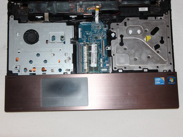HP ProBook 4520s Palm Rest Replacement