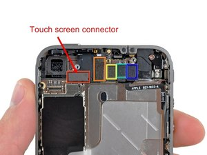 iphone touch screen not responsive solved top of touch screen won t respond iphone 4 ifixit 17721