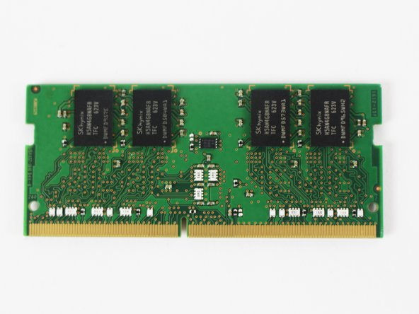 Gently remove the RAM by the edges.