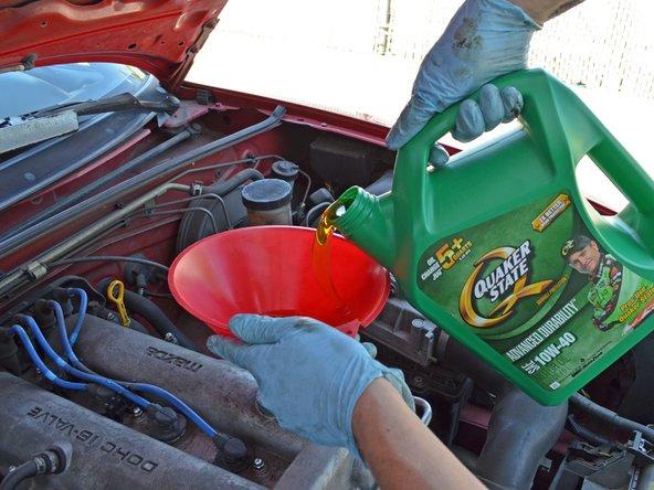 1990-1997 Mazda Miata Oil Change (1990, 1991, 1992, 1993