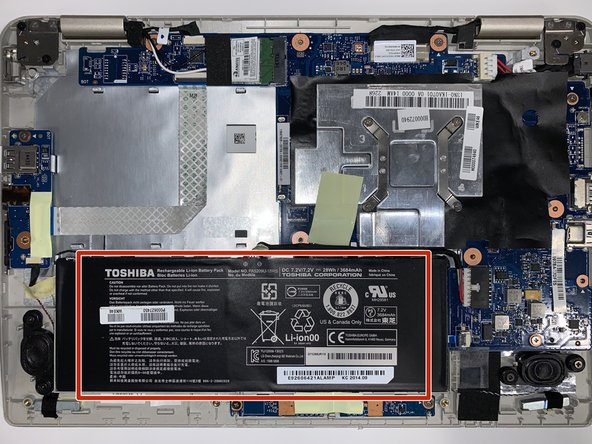 Toshiba L15W-B1303 Battery Replacement