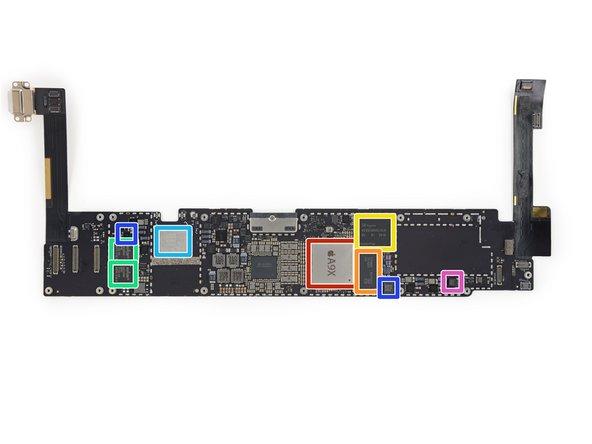 Image 1/2: Apple [https://chipworks.secure.force.com/catalog/ProductDetails?sku=APP-APL1021|APL1021|new_window=true] A9X 64-bit Processor