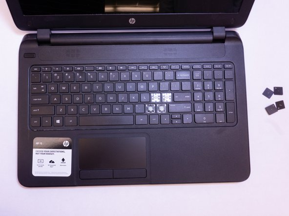 HP 15-f004dx Keyboard Keys Replacement