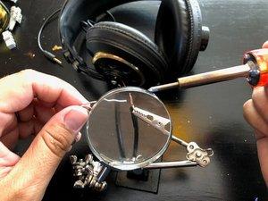 How to Repair Headphone Wiring