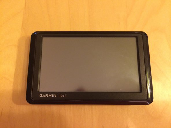 Here's the Garmin 1370 we'll be working on today.