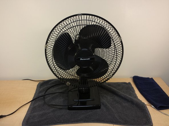 How To Fix A Noisy Table Fan Ifixit Repair Guide