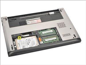 Dell Vostro V131 Hard Drive Removal
