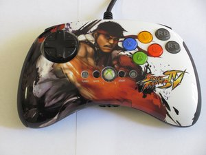 Mad Catz Street Fighter IV Fightpad Troubleshooting
