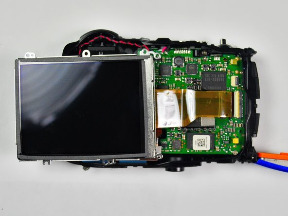 FujiFilm FinePix XP50 LCD Screen Replacement