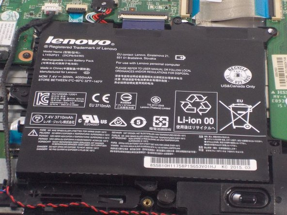 Lenovo Flex 3-1120 Battery Replacement