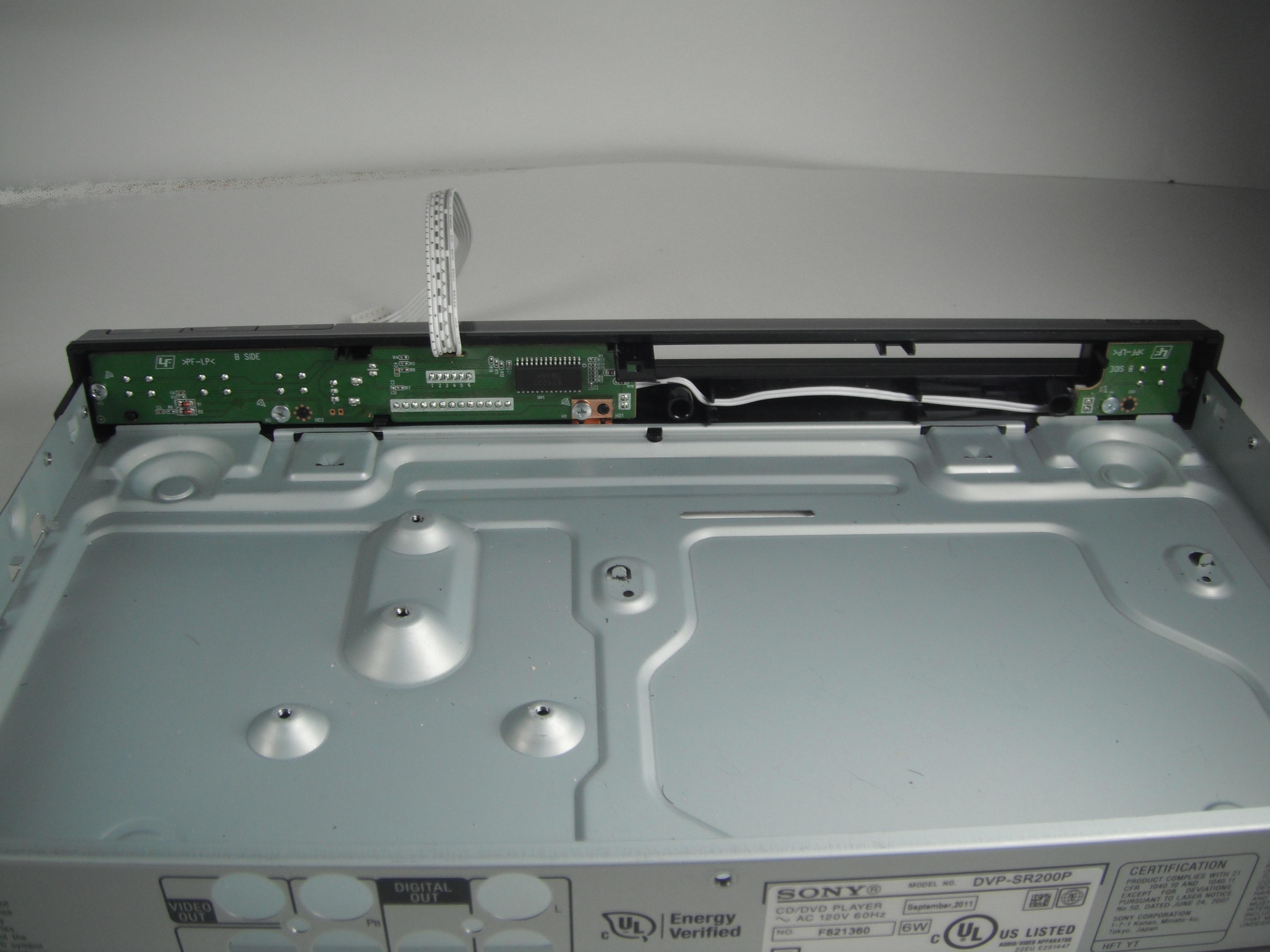 sony dvp sr200p repair ifixit rh ifixit com Sony DVP Ns57p DVD Player Sony DVP Ns57p DVD