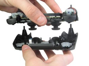 Disassembling DualShock 4 Motherboard Assembly