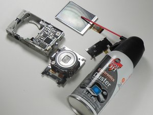 Nikon Coolpix S3100 Camera Disassembly