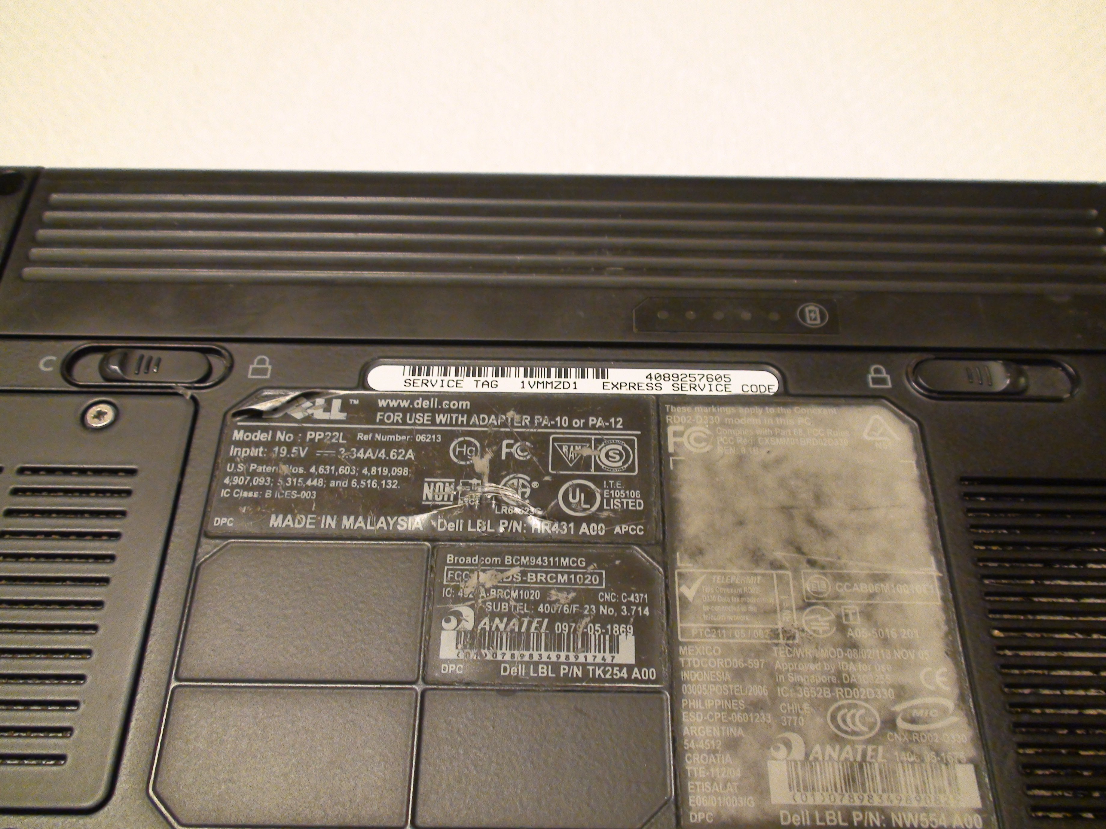 Dell Inspiron 1521 DVD Drive Replacement