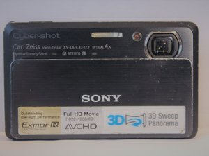 Sony Cyber-Shot DSC-TX9 Repair