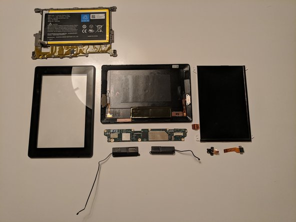 Amazon Fire HD 3rd Gen Disassembly