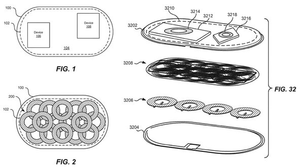 Apple patent filings for the coils in the AirPower wireless charger