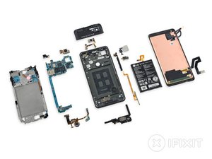 Google Pixel 2 XL Teardown