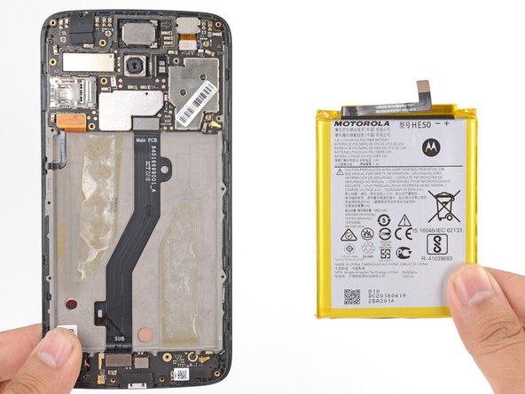 Motorola Moto E4 Plus Battery Replacement