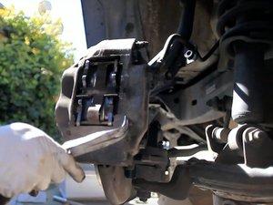 Front Brake Pad and Rotor
