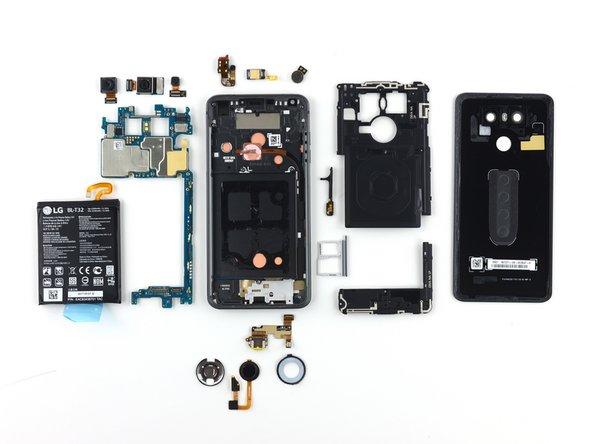 LG G6 Repairability Assessment - iFixit Repair Guide