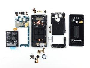 LG G6 Beurteilung der Reparierbarkeit