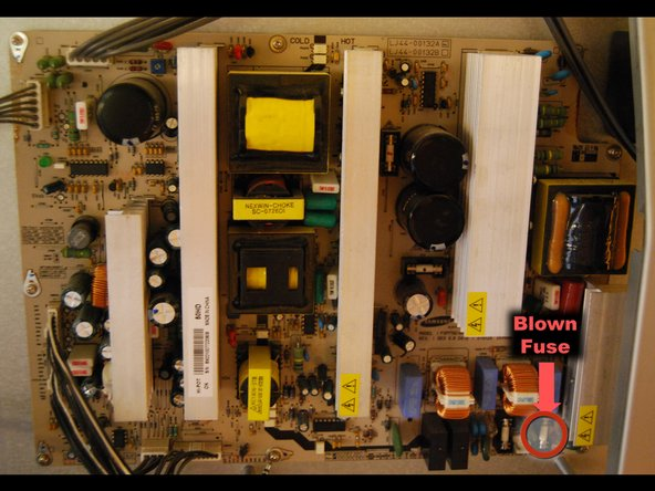 ZiMturncVOiNhRTy.medium sanyo dp50747 plasma tv fuse replacement and power board check  at et-consult.org