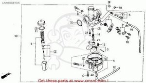 Solved What Is The Nipple On The Bottom Of The Carburetor For Honda 3 Wheeler Carburater Ifixit