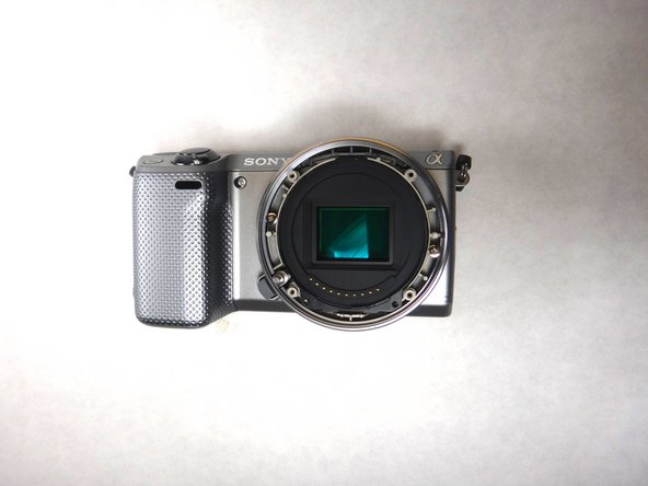 Sony NEX-5R Lens Mount Replacement
