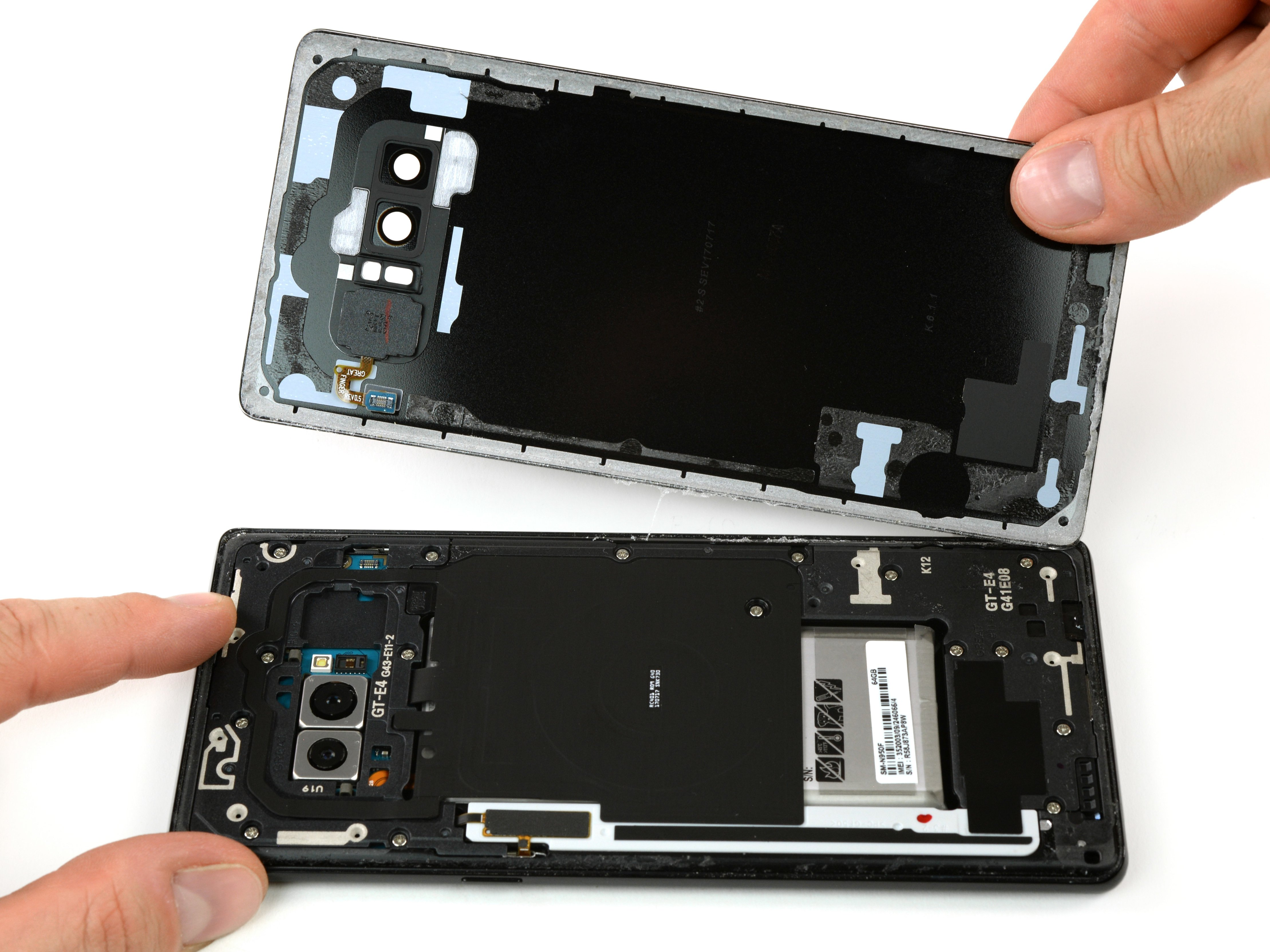 Samsung Galaxy Note8 Back Cover Replacement - iFixit Repair