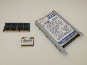 HDD / RAM Memory / WiFi card