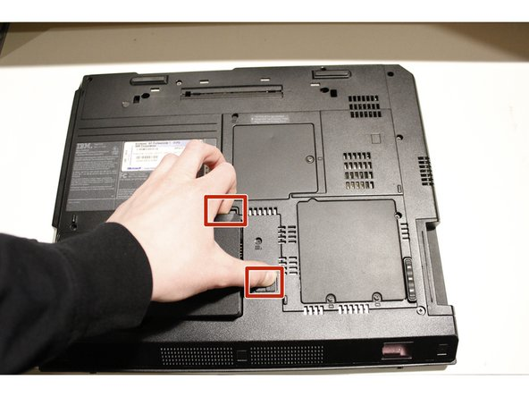 IBM ThinkPad R40 Battery Replacement