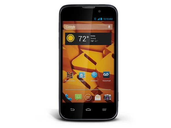 usually zte warp messaging with original