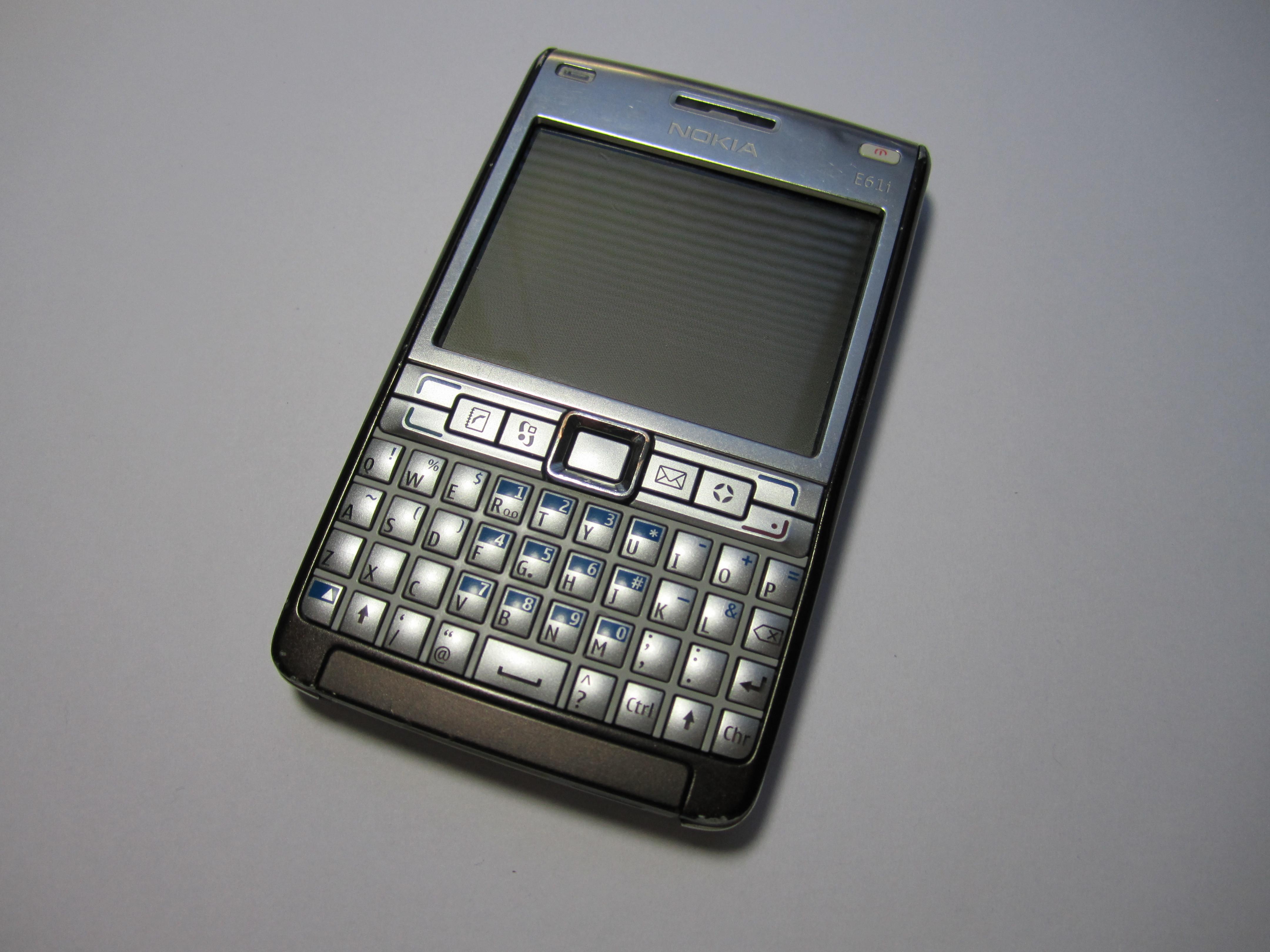 Nokia E61i Teardown Ifixit