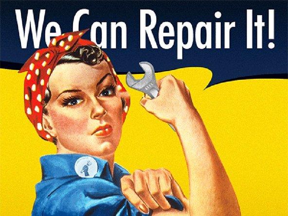 Rosie the Riveter for repair